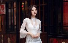 Duyên dáng và năng động khi diện áo dài như Jolie Nguyễn