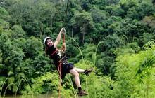 Đường trượt Zipline thử thách bậc nhất tại Madagui, bạn đã thử chưa?
