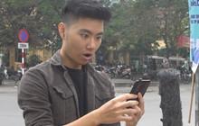 """Giới trẻ """"há hốc"""" với chiếc điện thoại camera """"tàng hình"""""""