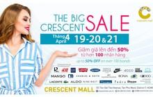 Sự kiện 3 ngày sale khủng tại Crescent mall đã trở lại!