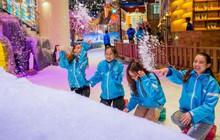 Hạ nhiệt lễ 30/4 tại căn cứ mùa đông Thị trấn Tuyết