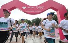Lazada tổ chức Olympic Day Run, công bố là đối tác của Olympic trong 9 năm tới