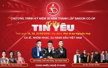 Lam Trường, Đàm Vĩnh Hưng, Noo Phước Thịnh góp mặt trong chuỗi sự kiện của Saigon Co.op tại phố đi bộ Nguyễn Huệ