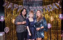 Danh ca Thanh Hà cùng bạn trai góp mặt trong tiệc sinh nhật trò cưng Châu Nhi