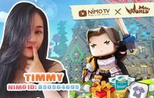 Tháng 4 nóng càng thêm nóng cùng Nimo TV và Mini world Block Art