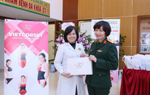 """Latex giảm eo """"made in Việt Nam"""" được giới thiệu hoành tráng tại hội nghị Bệnh viện TƯQĐ 108"""