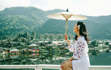 Ngắm Chiang Mai đẹp lịm tim qua những khung hình xanh mướt của Đỗ Vy