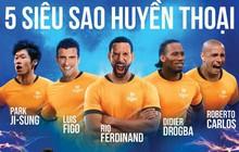 Điểm mặt những siêu sao bóng đá thế giới chuẩn bị đến Việt Nam vào cuối tuần này