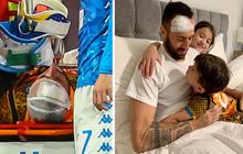 Làng bóng đá thế giới thở phào khi thấy hình ảnh mới nhất của thủ môn đổ gục sau khi gặp chấn thương đầu