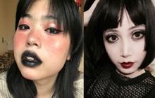 Giới trẻ Trung Quốc chuyển sang makeup môi thâm, mắt đậm để thể hiện sự tự do trong thời trang