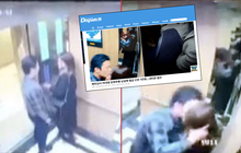 Báo Hàn đưa tin vụ cô gái Việt bị cưỡng hôn trong thang máy nhưng 'yêu râu xanh' chỉ bị phạt 200.000 đồng