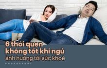Sáng dậy cảm thấy đau mỏi, khó chịu thì có thể bạn phải từ bỏ những thói quen không tốt khi ngủ này