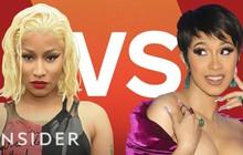 Cardi B tiếp tục vượt Nicki Minaj, trở thành nữ rapper đầu tiên làm được điều này