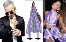 """Từng """"bùng"""" đẹp show ở Việt Nam là thế, Ariana Grande giờ lại mặc hẳn đồ của NTK gốc Việt lên liveshow mới nhất"""