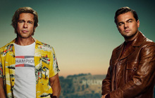 """2 tài tử điển trai khét tiếng Hollywood Brad Pitt và Leonardo tề tựu siêu ngầu ở trailer phim của gã """"quái kiệt"""" Quentin Tarantino"""