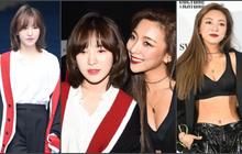 """Wendy (Red Velvet) và Luna f(x) trong một khung hình: Cô em thiện lành bao nhiêu, cô chị nhìn """"gắt"""" bấy nhiêu"""