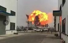 Nổ nhà máy hóa chất ở Trung Quốc, 36 người thương vong