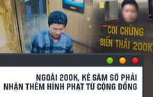 Chỉ mất 200k, Đỗ Mạnh Hùng đã mang về cho mình cái bản án là cơn giận dữ của tất cả những ai quan tâm đến vụ việc này