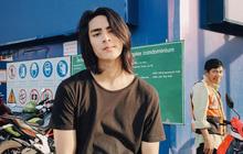 """Hot boy Thái Lan nuôi tóc dài như """"bà thím"""" khiến các cô gái phải thốt lên: Đẹp thì làm gì cũng đẹp!"""