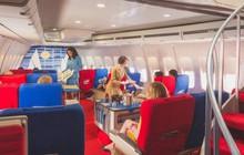 Mê mẩn màn tái hiện thời kỳ đỉnh cao của ngành hàng không vào thập niên 70: Du lịch mà như thế này thì cũng xin 1 tháng đi 5 lần!