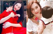 """Vừa tròn 1 tuổi, con gái HH Đặng Thu Thảo đã diện váy hiệu """"chanh xả"""" gần 11 triệu khiến ai cũng xuýt xoa"""