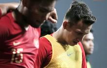 Cầu thủ U23 Indonesia bật khóc nức nở sau trận thua U23 Việt Nam
