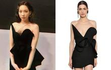 Nhờ thêm đúng 1 mảnh vải lưới vào váy, Taeyeon trông vừa đỡ hớ hênh vừa sang hơn hẳn người mẫu chuyên nghiệp