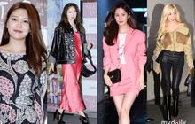 """Sooyoung mời cả dàn mỹ nhân SNSD đến sự kiện: Taeyeon """"thảm họa"""", em út Seohyun đọ body siêu nuột với nữ diễn viên"""