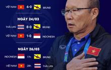 Lịch thi đấu trận đại chiến U23 Việt Nam - U23 Thái Lan
