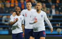"""Vòng loại Euro 2020: Tuyển Anh tái lập thống kê khủng sau 35 năm nhờ trận thắng """"hủy diệt"""" Montenegro"""
