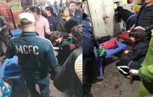 Điều tra nghi án nổ súng cướp tiền ở khu bán cá chợ Long Biên