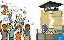 Sinh viên và du học sinh tại Hàn Quốc bức xúc vì hàng loạt trường đại học đột nhiên tăng học phí