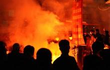 VFF lần đầu phạt CLB Hải Phòng vì lỗi đốt pháo sáng bên ngoài sân Lạch Tray