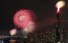 TP.HCM bắn pháo hoa nghệ thuật ở tòa nhà Landmark 81 dịp lễ 30/4