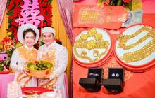 """Choáng với đám hỏi """"khủng"""" ở Kiên Giang: Cô dâu đeo 13 cây vàng kèm kim cương, cùng gần 1 tỷ đồng tiền sính lễ"""