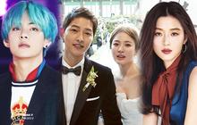 """BXH khủng nhất xứ Hàn: BTS và Big Hit đẩy YG khỏi BIG3, vợ chồng Song Song vượt mặt """"mợ chảnh"""""""