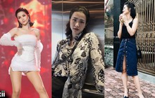 """Trái ngược với Đông Nhi """"đầu tư"""" trên sân khấu, style đời thường của cô nàng ngoài 30 này lại cực đơn giản và suốt ngày chỉ giày bệt"""