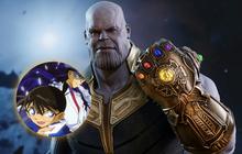 """Nếu triệu hồi cặp đôi Conan và Kid, Thanos sẽ """"Endgame"""" trong một nốt nhạc?"""