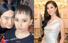 Một cú lừa từ HH Tiểu Vy: Cứ tưởng lần đầu tiên cắt tóc mái, nhưng hóa ra chỉ là tóc giả mà thôi?