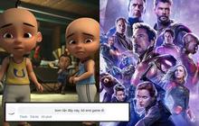 """Upin và Ipin: Đối thủ không phải dạng vừa với """"Endgame"""" của đội Avengers!"""