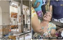 Hiện trường tan hoang sau 8 vụ nổ đẫm máu tại Sri Lanka khiến ít nhất 160 người thiệt mạng