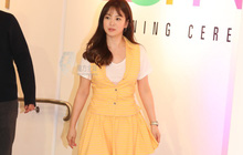 Mong có một ngày, Song Hye Kyo chinh phục thành công gam màu vàng chứ hiện tại thì lần nào mặc cũng mắc lỗi