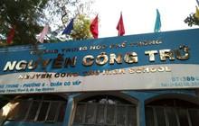 Một giáo viên trường ở TPHCM bị tố nâng điểm hàng loạt bài thi