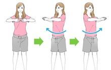 Học con gái Nhật 4 bài tập làm thon nhỏ vòng eo để tự tin chọn đồ trong mùa hè