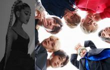 """Ariana Grande tiếp tục """"chơi cầu trượt"""", BTS kế nhiệm loạt thành công """"khủng"""" của làng nhạc US-UK trên BXH Billboard 200"""