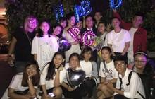 """Fan """"đột kích"""" tổ chức sinh nhật cho Trường Giang nhưng được chú ý nhất chính là giỏ quà tặng!"""