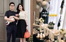 """Á hậu Tú Anh bí mật tổ chức sinh nhật cho ông xã thiếu gia kém 1 tuổi nhưng cuối cùng vẫn bị """"lộ tẩy"""""""