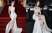 """Cùng diện đầm thách thức người nhìn: Sam đẹp tựa nữ thần, Jolie Nguyễn lại gây """"nhức nhối"""" với vòng 1 khủng"""