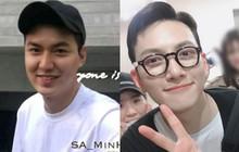 """Hình ảnh trước khi xuất ngũ của 2 mỹ nam Lee Min Ho và Ji Chang Wook: Mặt béo """"tròn quay"""" vẫn đẹp trai ngời ngời, nhưng ai hơn?"""