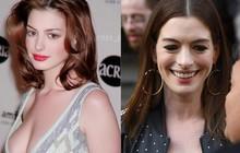 """Từng gây sốt vì đẹp """"ná thở"""", mỹ nhân ngực khủng Anne Hathaway lộ gương mặt nhăn nheo đến mức khó lòng nhận ra"""